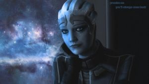 Liara T'Soni 1 by DragonConcept