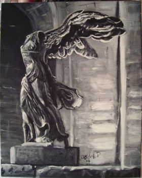 winged victory of samothrace by cliford417