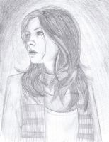 Mad, Impossible Amy Pond. by StringPaperScissors