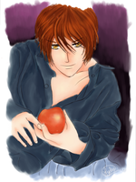 Light Yagami by Watercolur