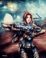 Luhara - Starseed Chronicles by Uryenn