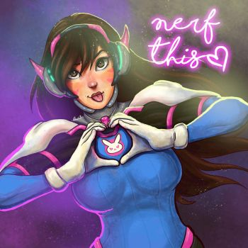 Nerf This! by fuzzypinkmonster