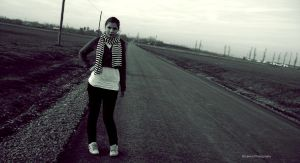 on the road_ by Draperie