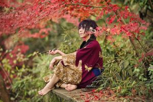 Shisuke Takasugi_Gintama by AMPLE-COSPLAY