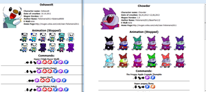 Just make a website for characters by Placemario