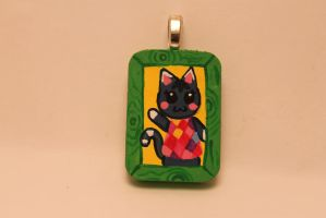 Animal Crossing Rosie Tiny necklace Portrait by TiellaNicole