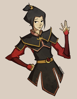 Azula by dustpigeons