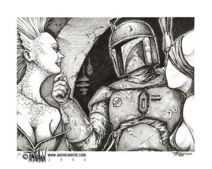 Courting The Bounty Hunter by timwann