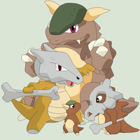 Pokemon Base 31~Cubone Evolution~ by Xbox-DS-Gameboy