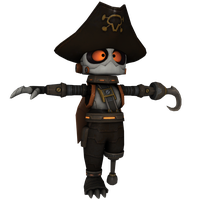 Ratchet and Clank: ToD - Holo Pirate Disguise by o0DemonBoy0o