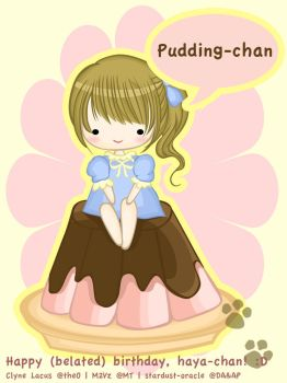 Pudding-chan by stardust-oracle
