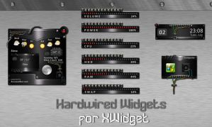 Hardwired Widgets Pack for xwidget (UPDATED) by jimking