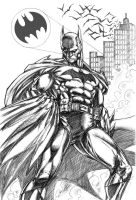 I'm BATMAN by CdubbArt