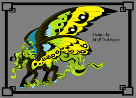 Custom Butterfly Pegasus by mlpdarksparx