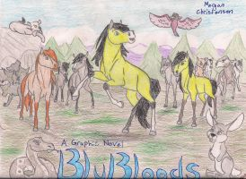 BluBloods Poster/Cover by Blu-Blood