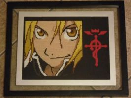 FMA Cross Stitch - Pt 1 by Karma-Pudding