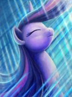 Let Your Hair Flow in the Light by Dahtamnay