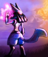 Lucario Re-done by wyvernsmasher