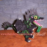 Blackwatch Dragon Miniature by the-gil-monster
