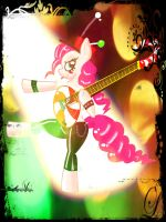 PinKie Pie you rock uju !! (refixed) by davidvega123