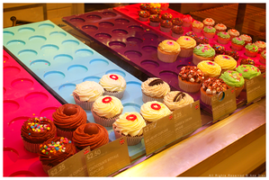 Colorful Cupcakes by Ana-D