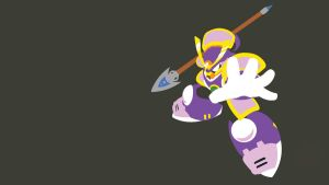 Yamato Man Minimalist Wallpaper by Oldhat104