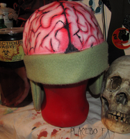 Zombie Brain Hat - FOR SALE by PlaceboFX