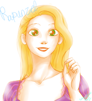 Rapunzel by BlueDressWonder