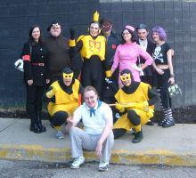 Venture Brothers Group by SlannMage