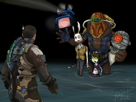 The Rapture Family ... by bluemage13