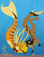 Commission: More Aquatic Variations 01 by SepiSnake