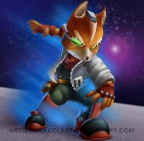 Smash Bros. [Fox McCloud] by Wraeclast