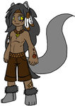 FREE CHARACTER|| Wolf Boy by ClockworkMidnight