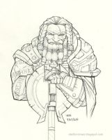 Daily Drawing Thorbir by AndrewScottKeller