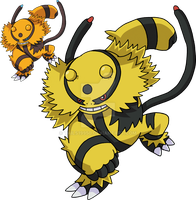 466 - Electivire - Art v.2 by Tails19950