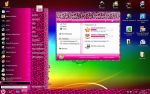 Pink Leo Theme for Windows7 by HardStyleKitty