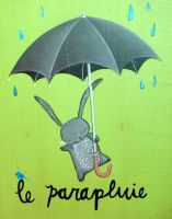 Le Parapluie by andralynn