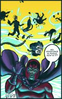 Magneto Vs. The Borg by dio-03