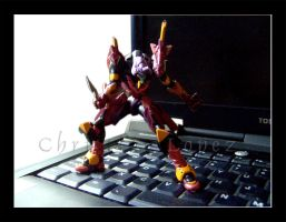 Evangelion unit 01 by StarBlackHeart