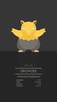 Drowzee by WEAPONIX