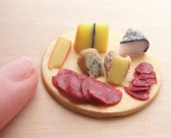 Cheese and Meat Board by fairchildart