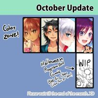October 2015 Update! by Reef1600
