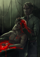HANNIBAL - Bathing time by Sayael