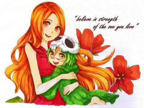 Orihime and Nel by Quiss