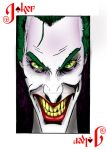 Joker Card by Punch-line-designs