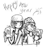 Happy new year by Pcyzicus