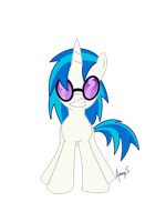 Vinyl Scratch by PlatedPegasus