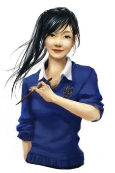 Cho Chang by ereya
