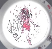 Plate Sketch Fairy by my-star-seeker