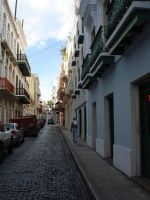 Street in Puerto Rico. by brookeofbabylon